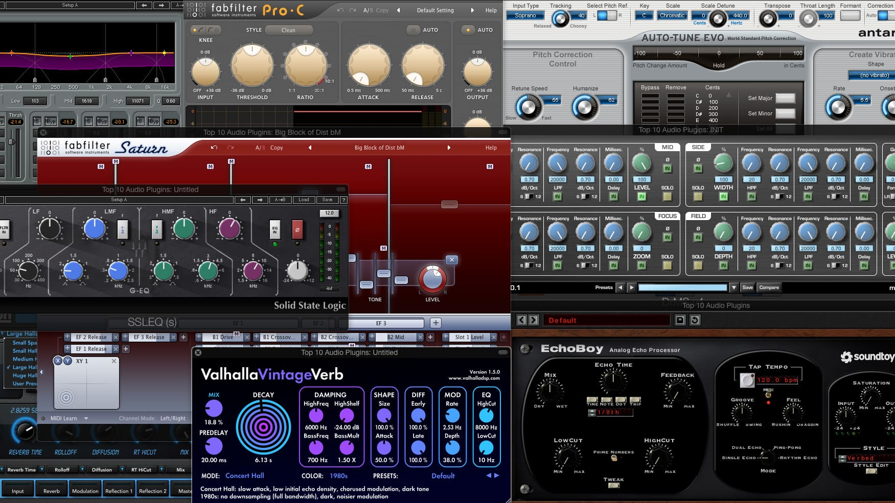 Top 10 Mixing Plugins - The Essential List For Engineers