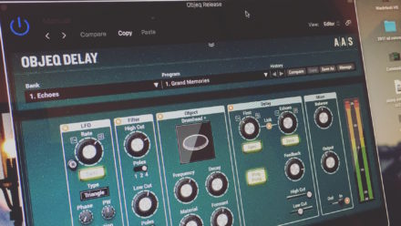 Objeq Delay - Acoustic Filter and Delay Plugin