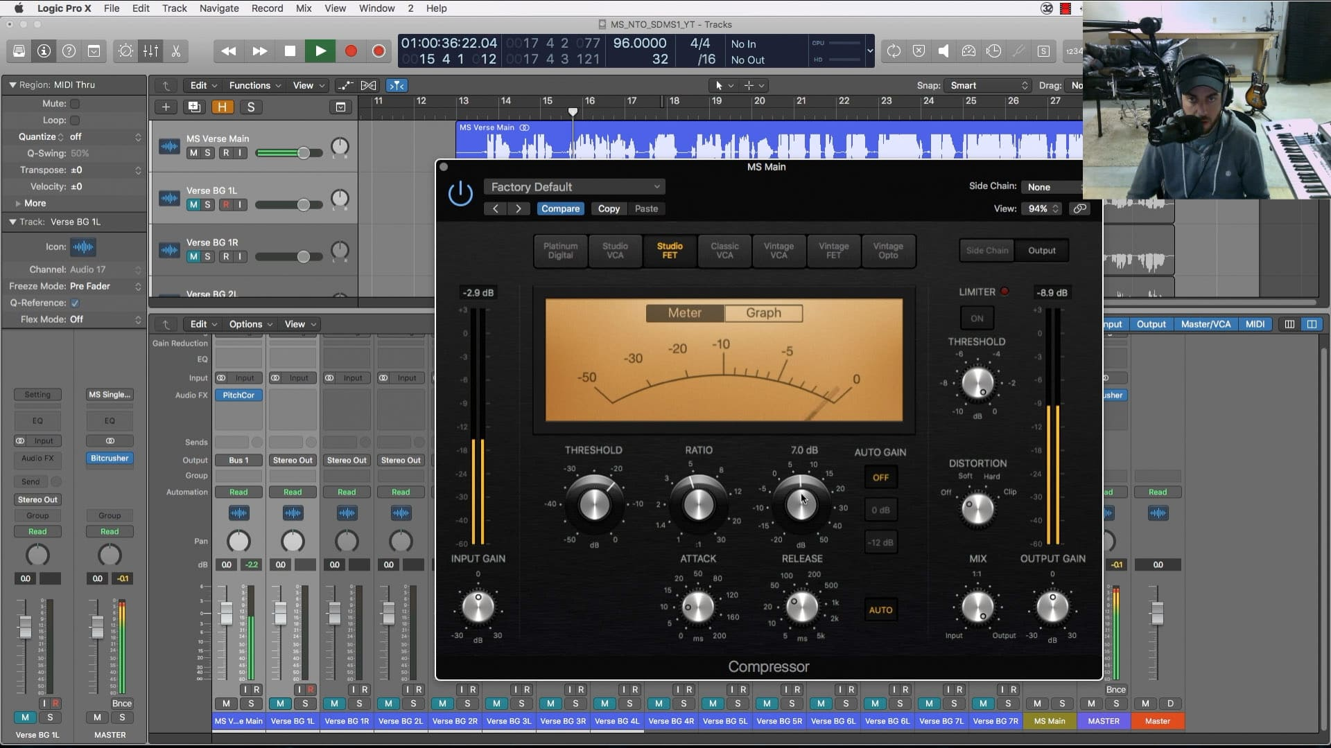 mixing r b vocals with stock plugins video tutorial logic pro. Black Bedroom Furniture Sets. Home Design Ideas