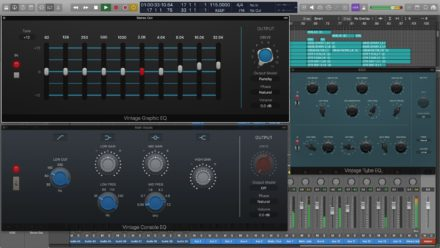 Logic Pro X 10.4 Vintage EQs Collection