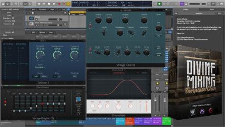 Divine Mixing Template One - Logic Pro X 10.4.5 Update