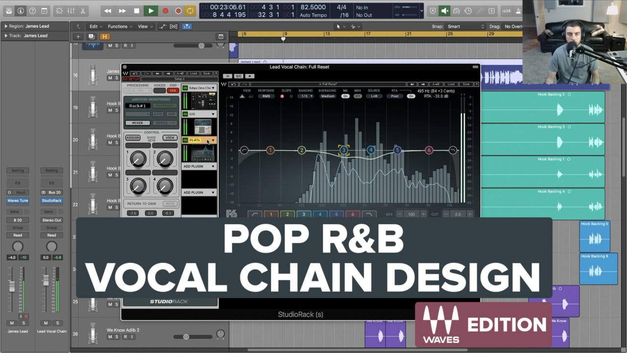 Pop R&B Vocal Chain Design - Free Preset for Waves Studio Rack