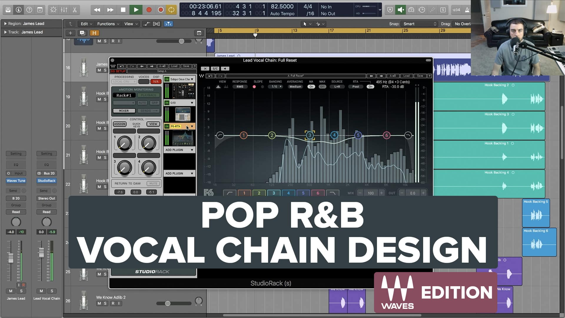 Pop R&B Vocal Chain Design - Free Tutorial Series (Preset