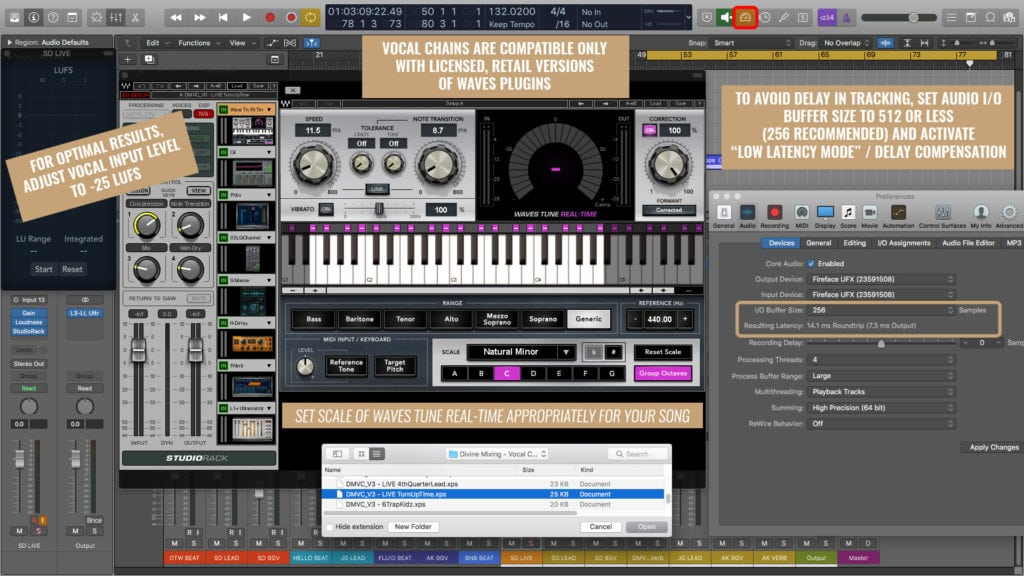 Divine Mixing Vocal Chains V2 - Waves StudioRack Plugins Disabled (Installation Help)