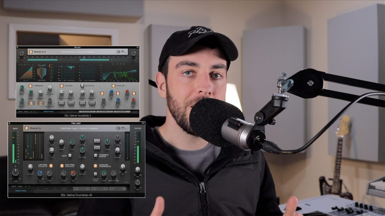 Mixing with SSL Native Plugins - Sean Divine