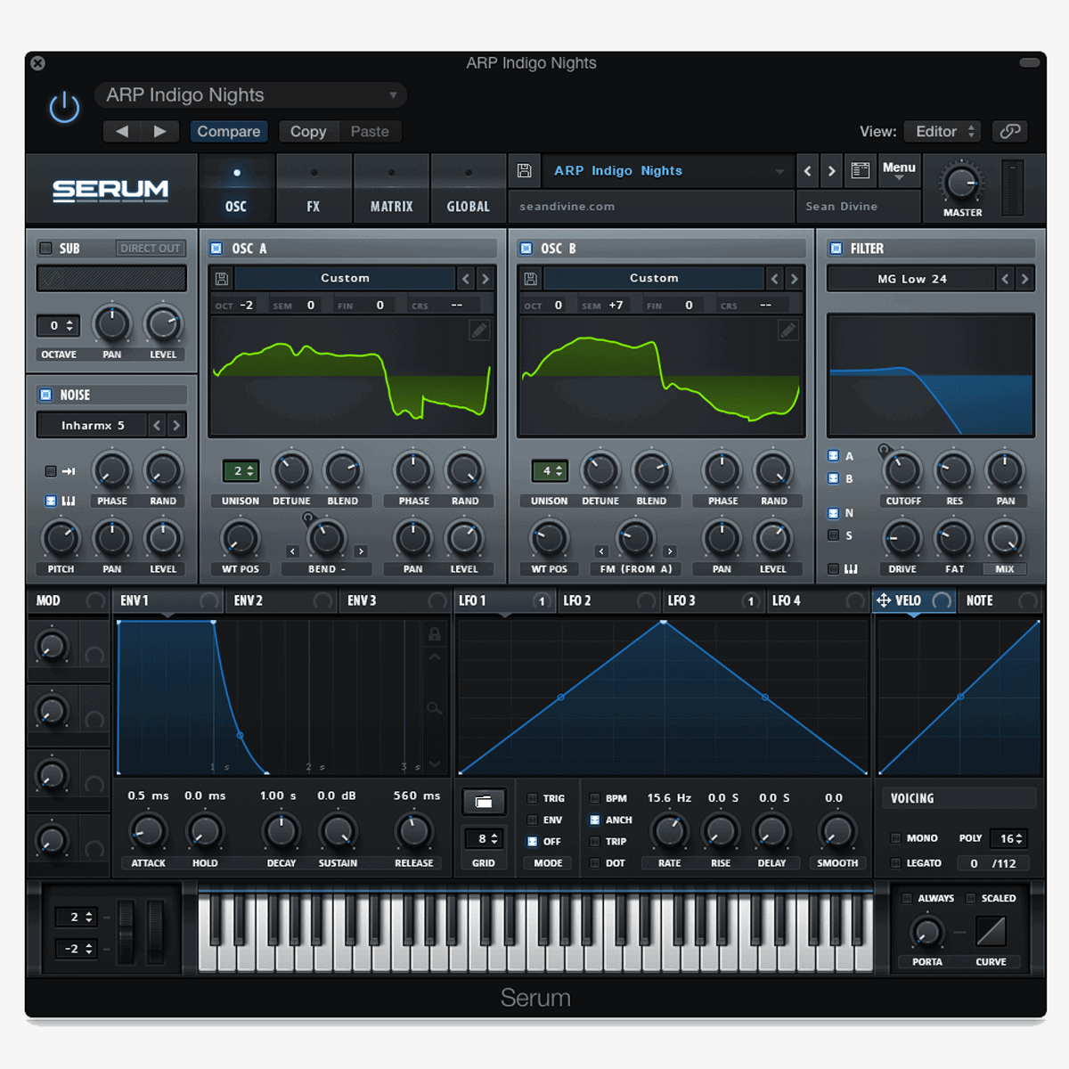 Urban Dreamscapes for Serum (Wavetables)