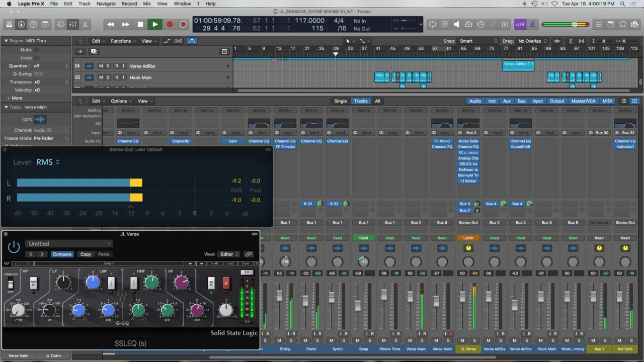 Divine Mixing S1 - Screenshot
