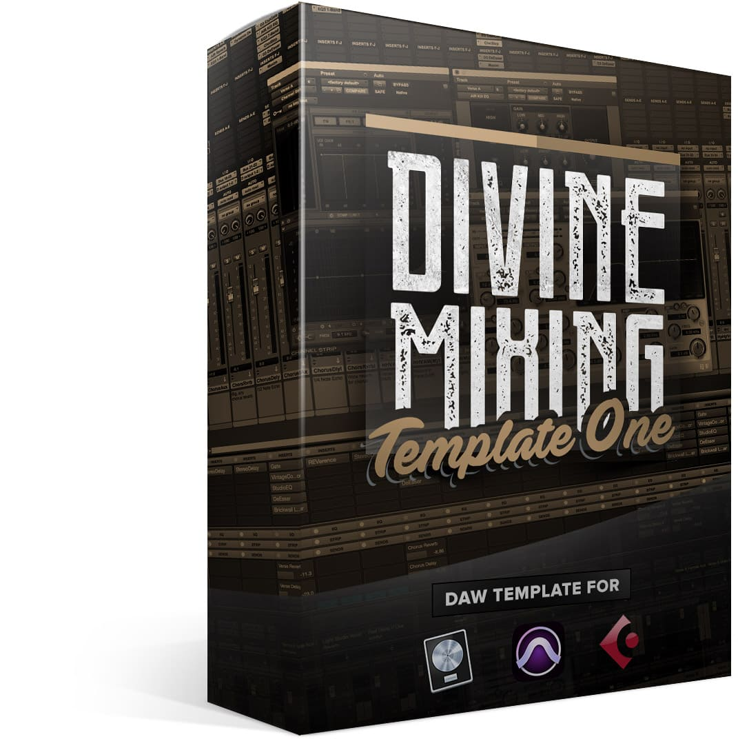 Divine Mixing - Template One (Box)