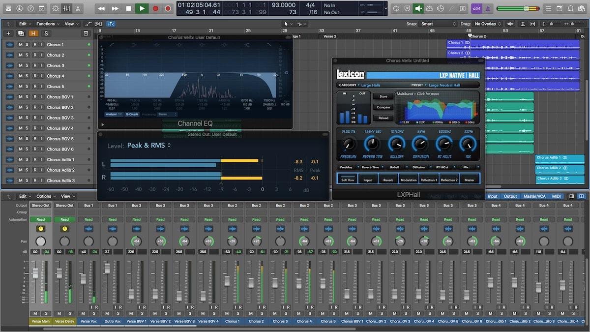 Divine Mixing S2 - Logic Pro X Session