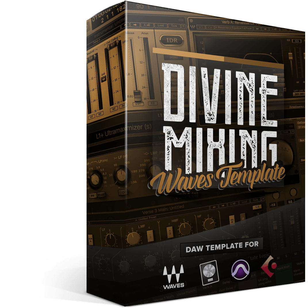Divine Mixing - Waves Template (Cover)
