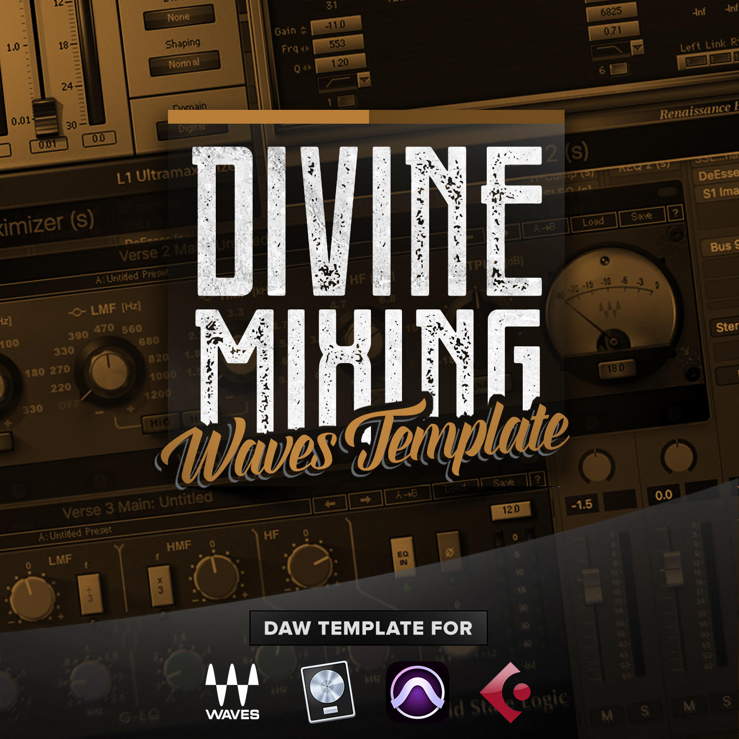Divine Mixing Waves Template - Custom Hip Hop DAW Template