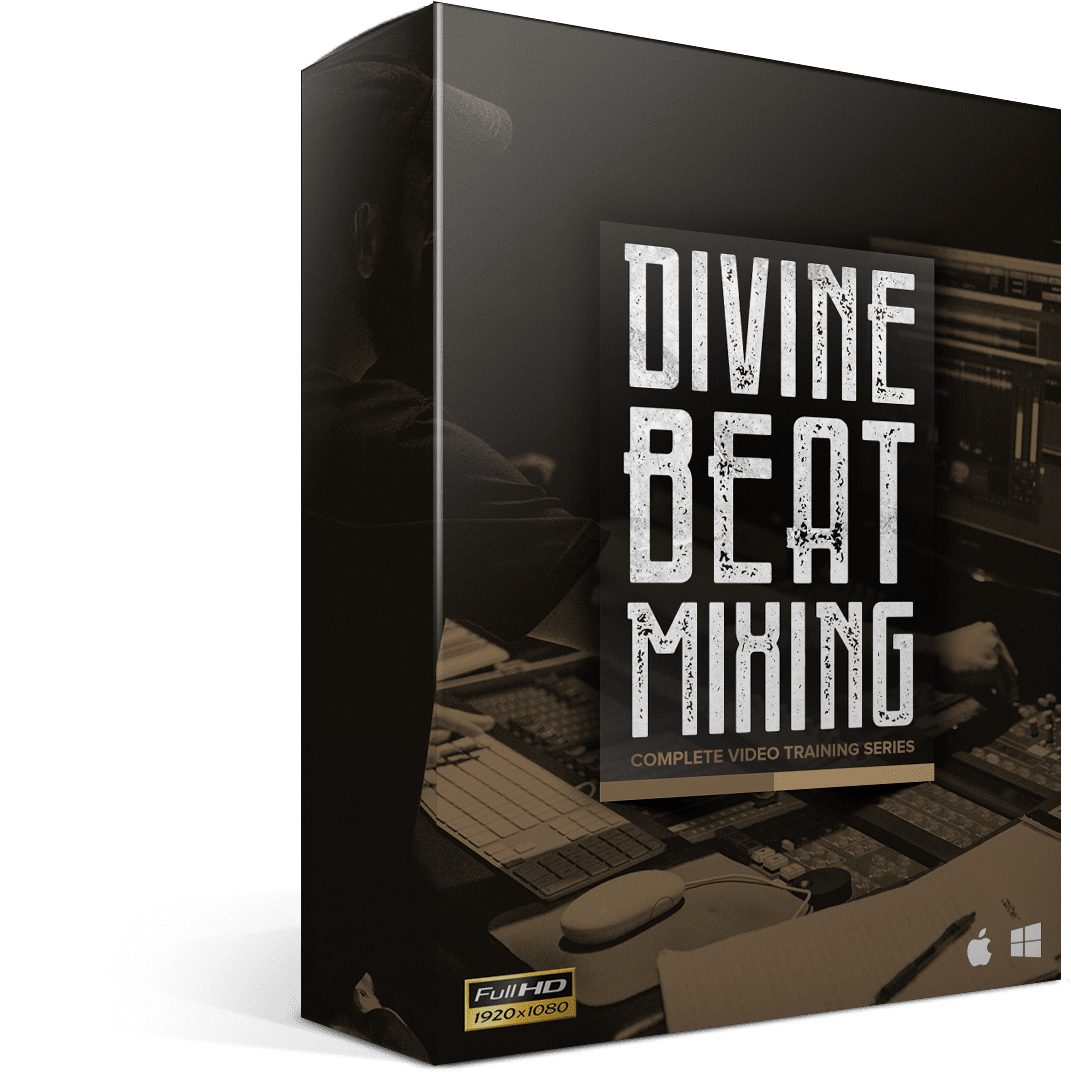 Divine Beat Mixing - Box Render