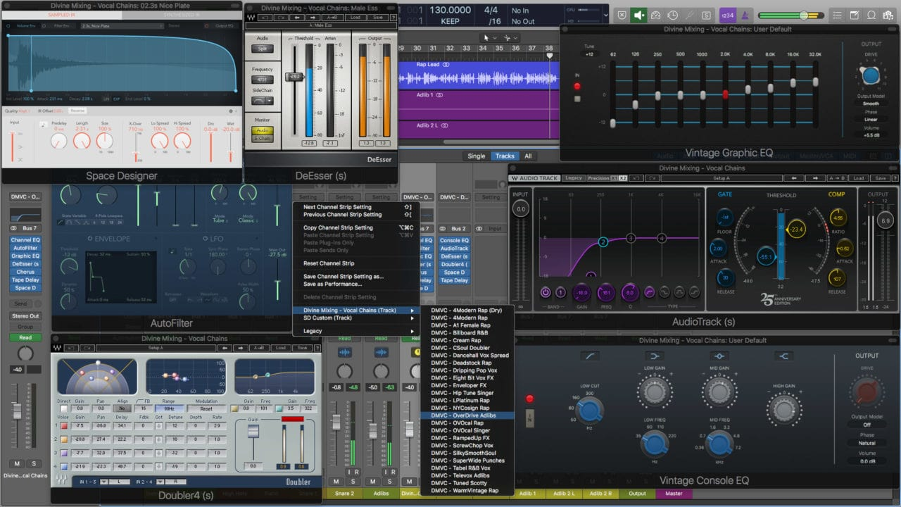 Divine Mixing - Vocal Chains (Screenshot Main)
