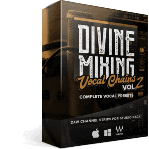 Divine Mixing Vocal Chains V2 Box - Vocal Presets for Waves Studio Rack