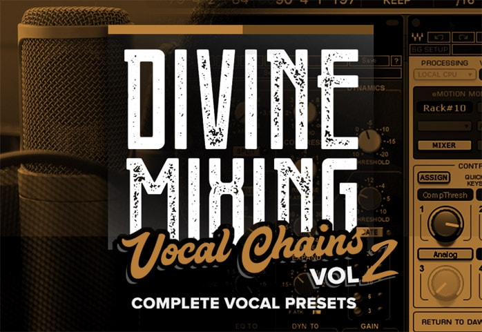 Divine Mixing Vocal Chains V2 Homepage - Vocal Presets for Waves Studio Rack