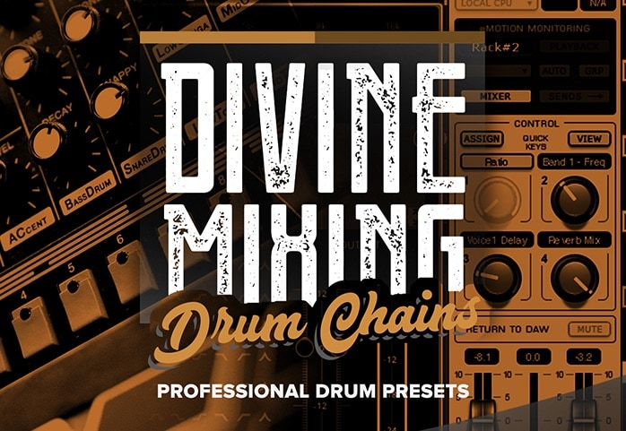 Divine Mixing - Drum Chains (Rectangle)