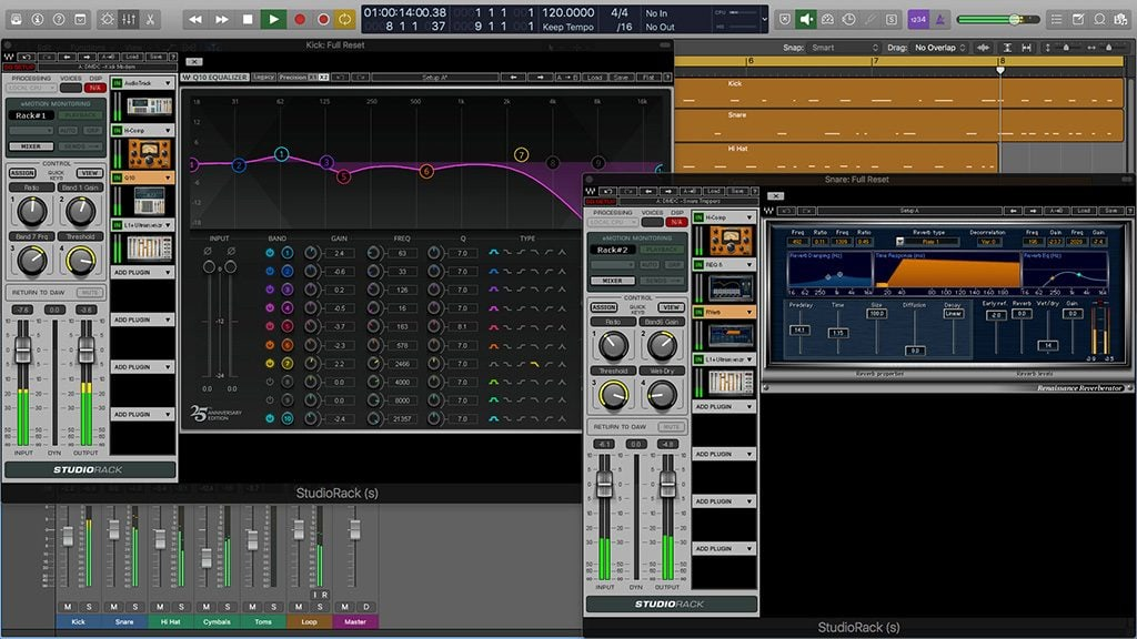 Divine Mixing - Drum Chains (Screenshot)