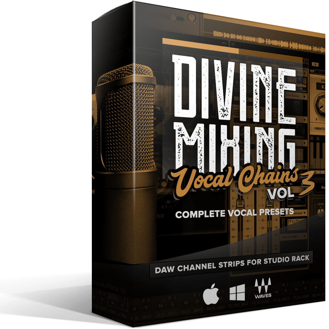 Divine Mixing Vocal Chains V3 - Box Render