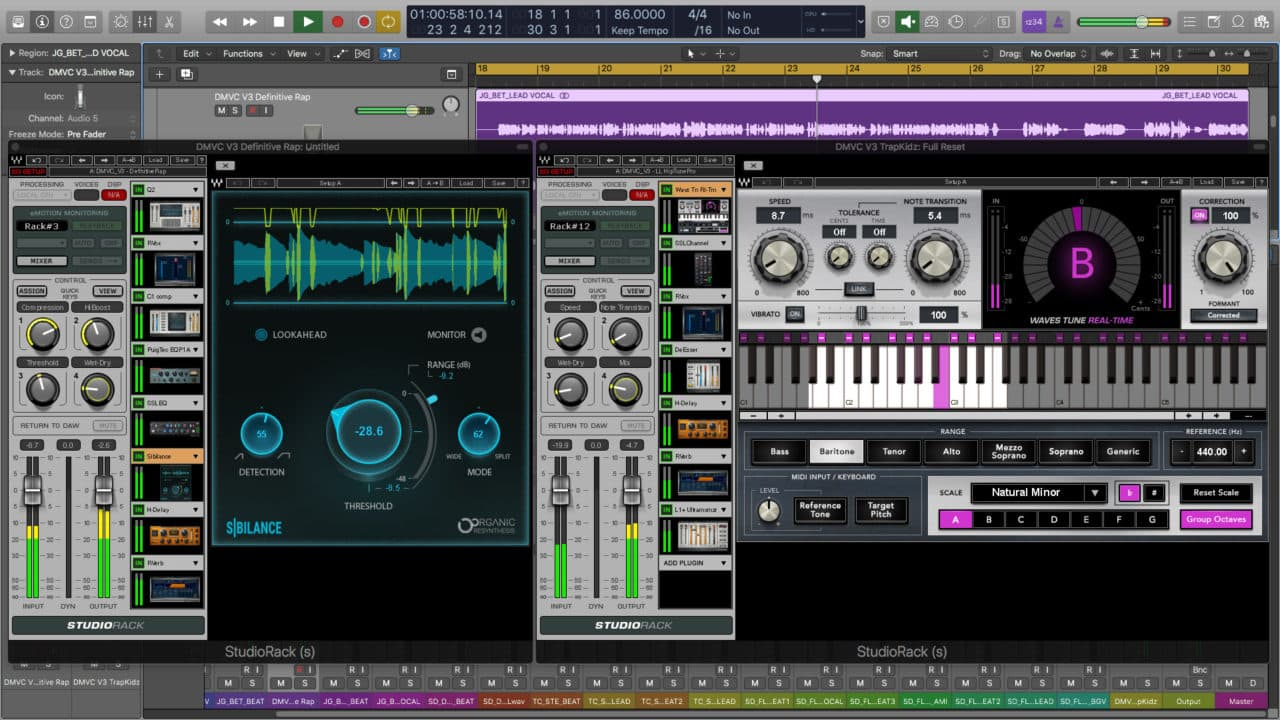 Divine Mixing Vocal Chains V3 - Screenshot