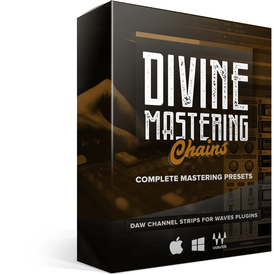 Divine Mastering Chains - Box Render