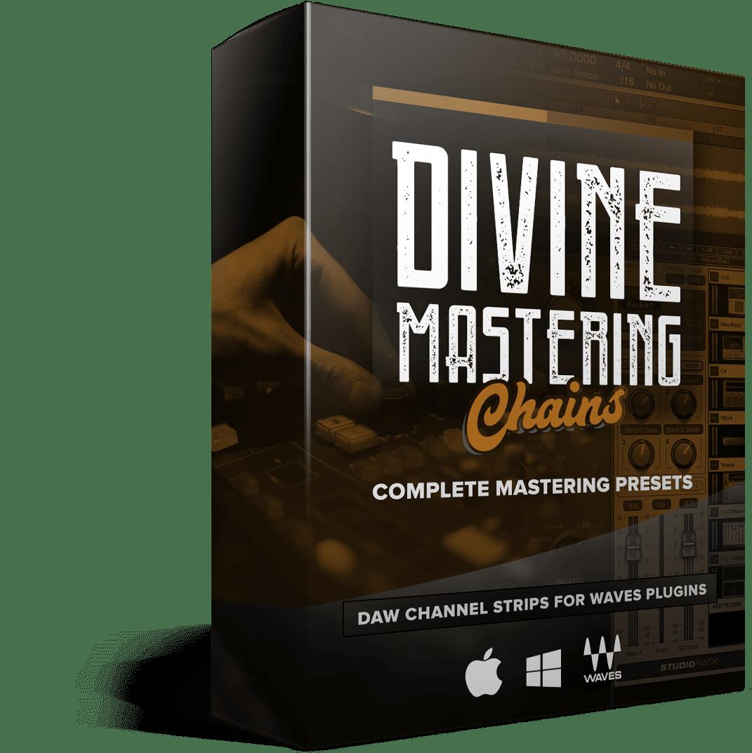 Divine Mastering Chains - Box Render
