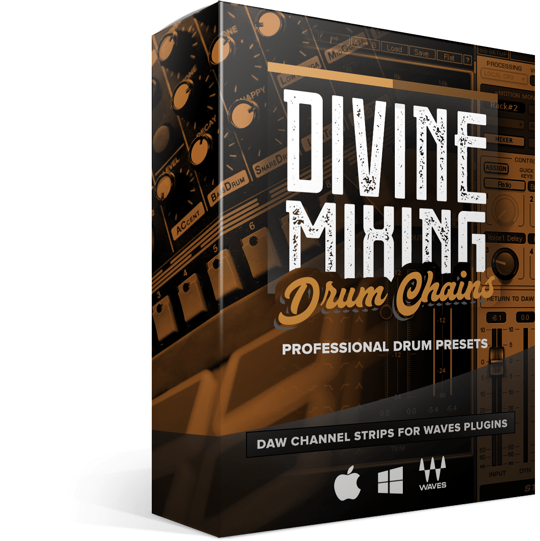 Divine Mixing - Drum Chains (Box Render)