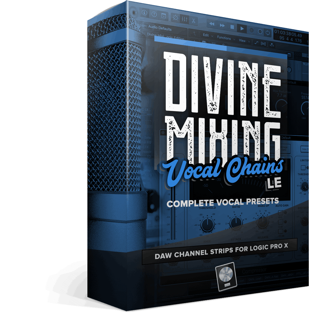 Divine Mixing - Vocal Chains LE - Box Render