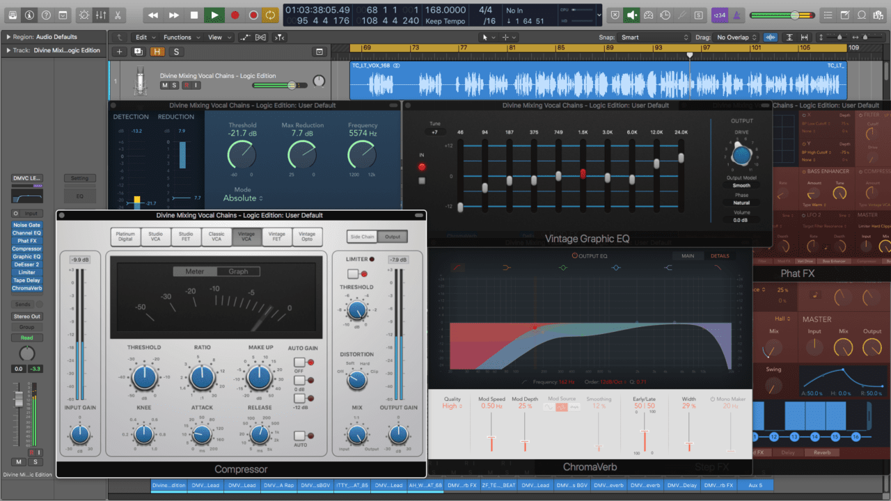 Divine Mixing - Vocal Chains LE (Screenshot)
