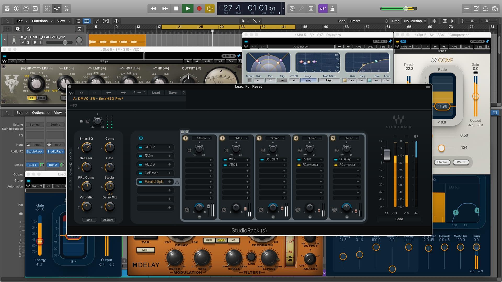 Divine Mixing - Vocal Chains SR (Parallel Split)