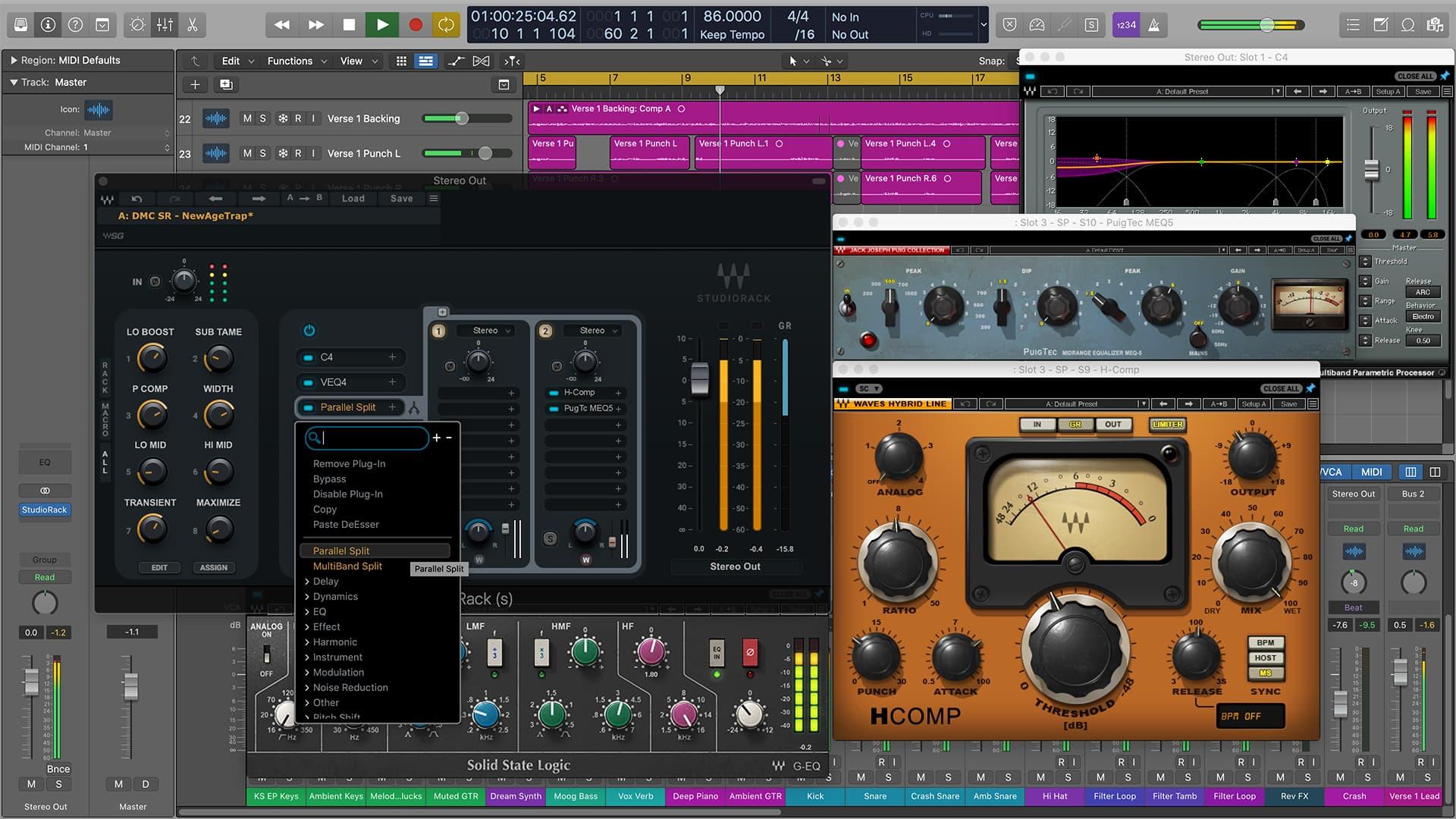 Divine Mastering Chains SR Presets for StudioRack