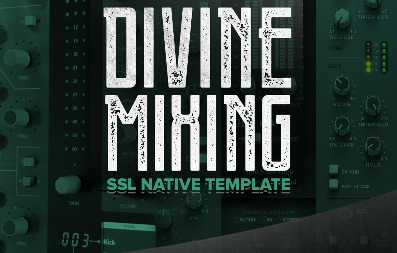 Divine Mixing SSL Native Template